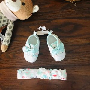 🎉Add on! Baby Shoes & Bow🎉